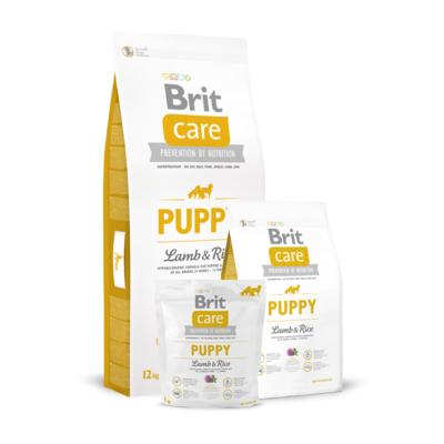 Brit Care Puppy All Breed Lamb&Rice, сухой корм для щенков всех пород ягненок и рис
