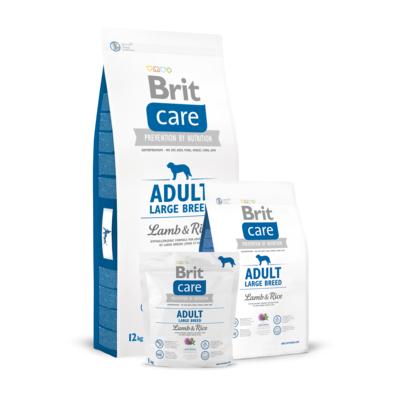 Brit Care Adult Large Breed Lamb&Rice, сухой корм для собак крупных пород ягненок и рис