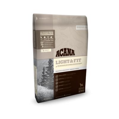 Acana Heritage LIGHT & FIT, облегченный корм для всех пород с цыпленком, рыбой, фруктами и овощами (65/35)