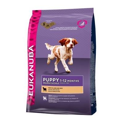 Eukanuba Puppy&Junior Lamb&Rice сухой корм Эукануба для щенков всех пород с ягненком и рисом