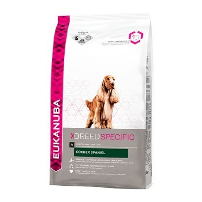 Eukanuba Cocker Spaniel для взрослых собак породы кокер-спаниель
