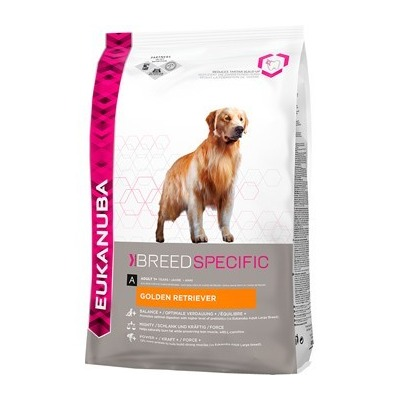 Eukanuba Golden Retriever для взрослых собак породы голден ретривер