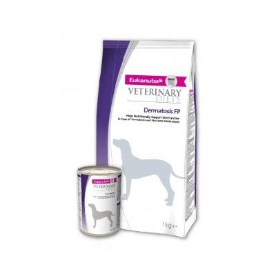 Eukanuba Dermatosis FP для собак при воспалительных заболеваниях кожи