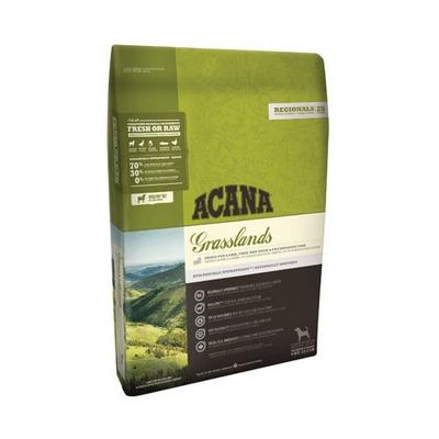 Acana Regionals Grasslands, беззерновой корм для собак всех пород с ягненком, уткой, рыбой, фруктами и овощами (70/30)