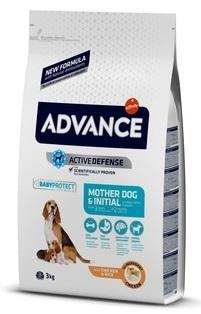 Advance Baby Protect Initial сухой корм для щенков с курицей и рисом (от 3 недель до 2 месяцев)