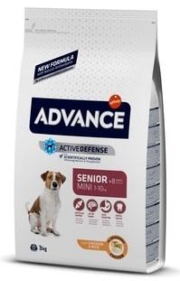 Advance Mini Adult сухой корм для взрослых собак малых пород с курицей и рисом