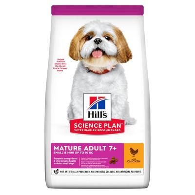 Hill's™ Science Plan™ Small & Miniature сухой корм для собак миниатюрных размеров старше 7 лет, с курицей