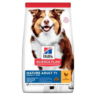 Hill's™ Science Plan™ сухой корм для пожилых собак средних пород старше 7 лет Active Longevity™ Medium с Курицей
