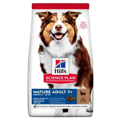 Hill's™ Science Plan™ сухой корм для собак средних пород старше 7 лет Active Longevity™ Medium с Ягненком и Рисом