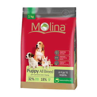 Molina корм для щенков всех пород «Puppy All Breed»