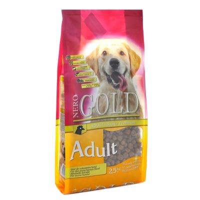 NERO GOLD super premium для взрослых собак курица и рис