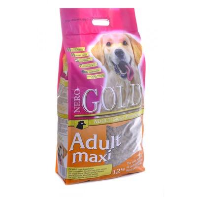NERO GOLD super premium для взрослых собак крупных пород