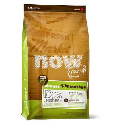 NOW Natural holistic беззерновой корм для собак малых пород всех возрастов с индейкой, уткой и овощами, Fresh Small Breed Recipe Grain Free