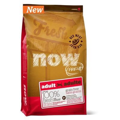 NOW Natural holistic беззерновой корм для взрослых собак со свежим мясом ягненка, Grain Free Red Meat Adult Recipe DF