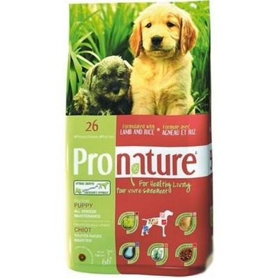 Pronature 26 для Щенков Формула Роста Ягненок с Рисом