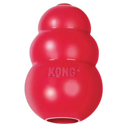 Kong Classic высокопрочная игрушка из литой резины для собак (фото)