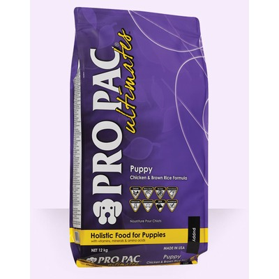 Pro Pac Ultimates Puppy сухой корм для щенков, курица с коричневым рисом