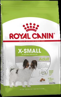 Royal Canine X-Small Adult сухой корм для взрослых собак миниатюрных пород (ИКС-СМОЛ ЭДАЛТ)