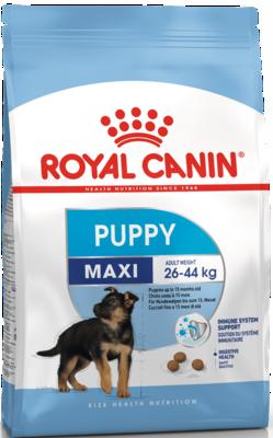 Royal Canine Maxi Puppy сухой корм для щенков крупных пород (Роял Канин Макси Паппи)
