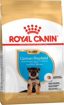 Royal Canine German Shepherd Junior сухой корм для щенков породы немецкая овчарка (Роял Канин Немецкая овчарка Паппи)