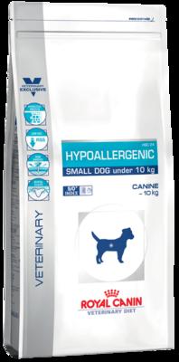 Royal Canine Hypoallergenic HSD 24 Small Dog гипоаллергенная диета для собак менее 10 кг с пищевой аллергией или непереносимостью