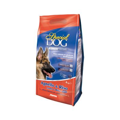 Monge Special Dog ягненок/рис, корм для собак с чувствительной кожей и пищеварением