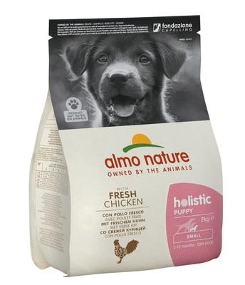 Almo Nature сухой корм для щенков малых пород с курицей, Small Puppy&Chicken