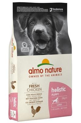 Almo Nature сухой корм для щенков крупных пород с курицей, Large Puppy&Chicken