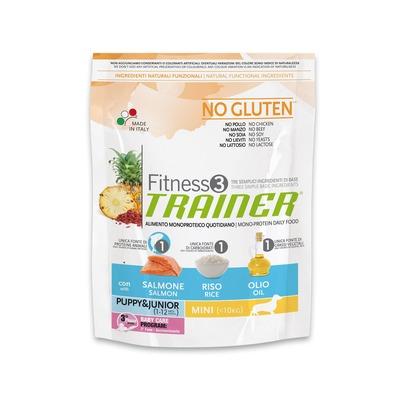 Trainer Fitness3 No Gluten Mini Puppy&Junior Salmon and Rice