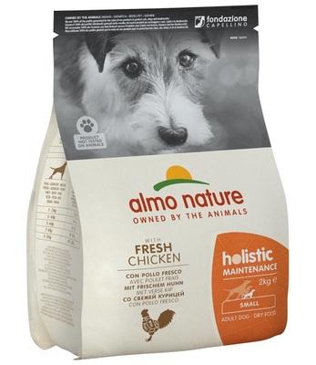 Almo Nature сухой корм для взрослых собак малых пород с курицей, Small&Chicken