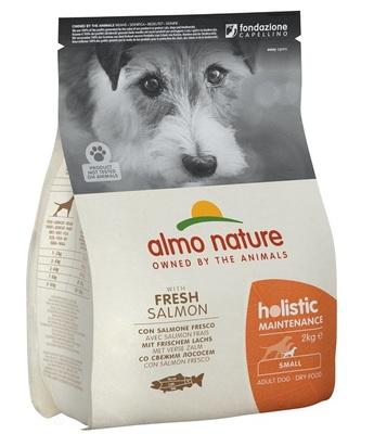 Almo Nature сухой корм для взрослых собак малых пород с лососем, Small&Salmon