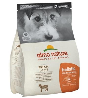 Almo Nature сухой корм для взрослых собак малых пород с ягненком, Small&Lamb