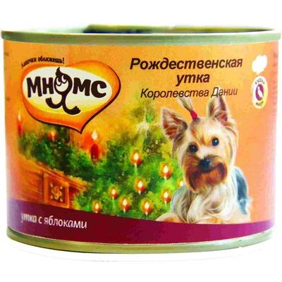 """Мнямс """"Рождественская утка Королевства Дании"""" утка с яблоками, 200 гр."""