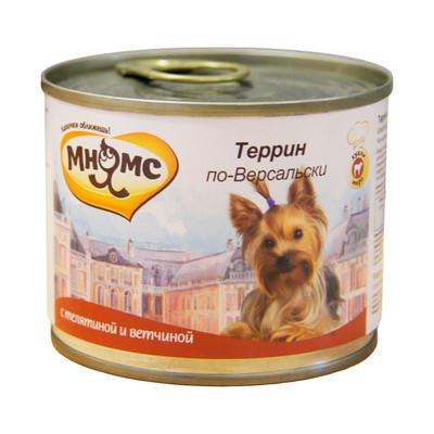Мнямс Террин по-Версальски (телятина с ветчиной), 200 гр.
