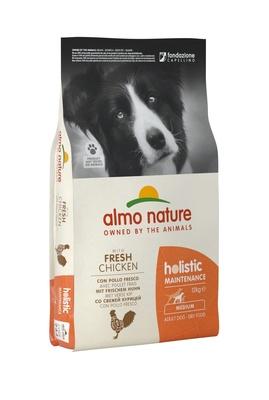 Almo Nature сухой корм для взрослых собак с курицей, Medium&Chicken