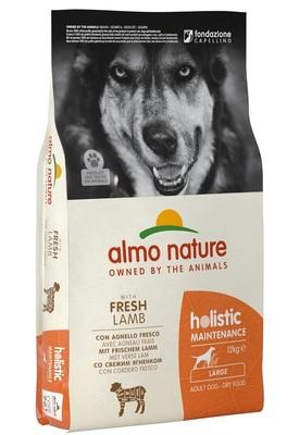 Almo Nature сухой корм для взрослых собак крупных пород с ягненком, Large&Lamb