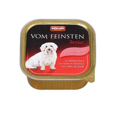 Animonda с сердцем индейки Vom Feinsten Senior консервы для собак старше 7 лет, 150 гр. х 22 шт.