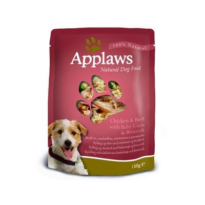 Applaws паучи для собак с курицей, говядиной и овощным ассорти, 150 гр