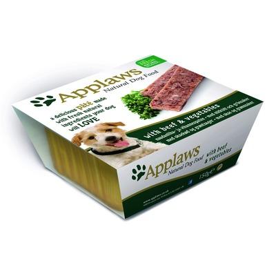 Applaws паштет для собак с говядиной и овощами, 150 гр