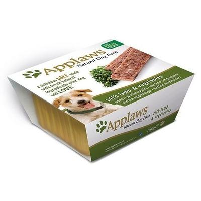 Applaws паштет для собак с ягненком и овощами, 150 гр