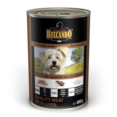 Belcando Super Premium Quality Meat With Liver Консервированный корм Белькандо отборное мясо с печенью