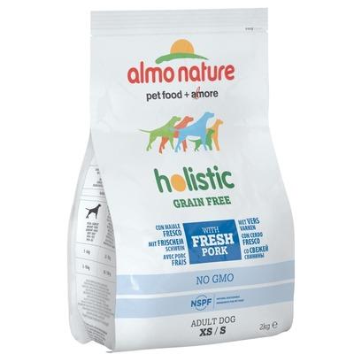 Almo Nature беззерновой корм со свининой и картофелем для собак карликовых и мелких пород