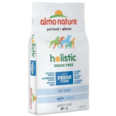 Almo Nature беззерновой корм со cвининой и картофелем для cобак средних и крупных пород