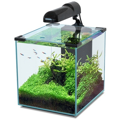 Аквариум AQUATLANTIS «Nano Cubic 30», 30 литров, цвет черный