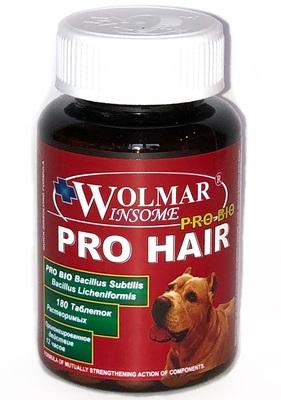 WOLMAR WINSOME® PRO BIO PRO HAIR Полифункциональный комплекс для улучшения состояния кожи и шерсти у щенков и собак