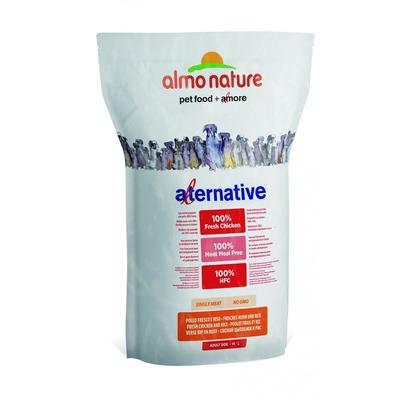 Almo Nature Alternative корм (50% мяса) со свежим цыпленком и рисом для собак средних и крупных пород, Alternative Fresh Chicken and Rice M-L
