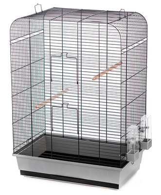 Inter-Zoo клетка для птиц NINA COLOR, размер 54х34х75 см