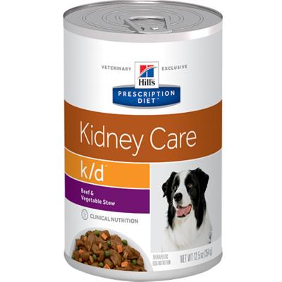 Hill`s K/D диетический консервированный корм для лечения заболеваний почек, Prescription Diet™ k/d™ Canine Original, 370 гр.