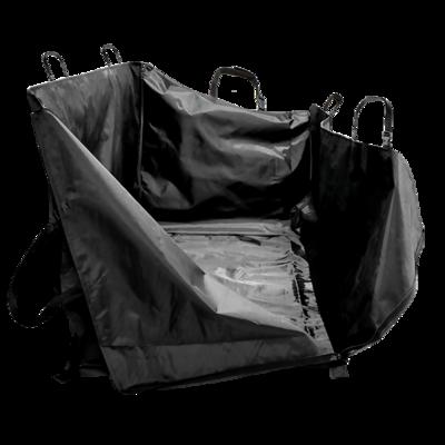 Зооник Гамак на молнии для сидения автомобиля с защитой дверей, 140х180 см