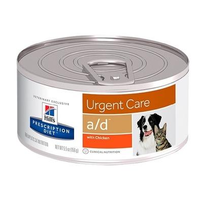 Hill`s А/D диетический консервированный корм при истощении, Prescription Diet™ a/d™ Canine/Feline, 156 гр.